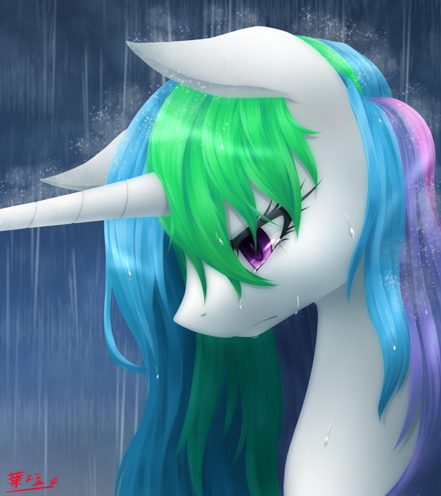 она картинки пони со слезами на глазах канале стс так