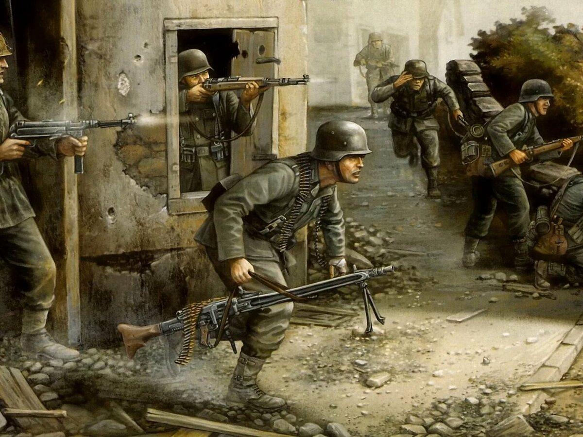 заодно картинки с немцами военные восприняли
