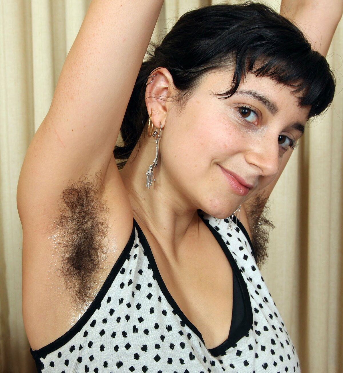 Hairy polish women