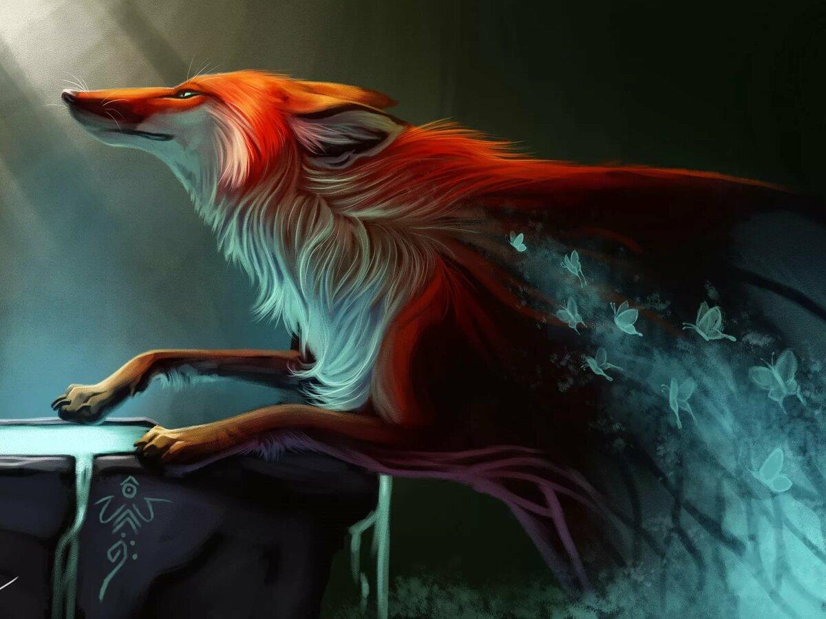 лисы красивые картинки эпичные замковые клеевые