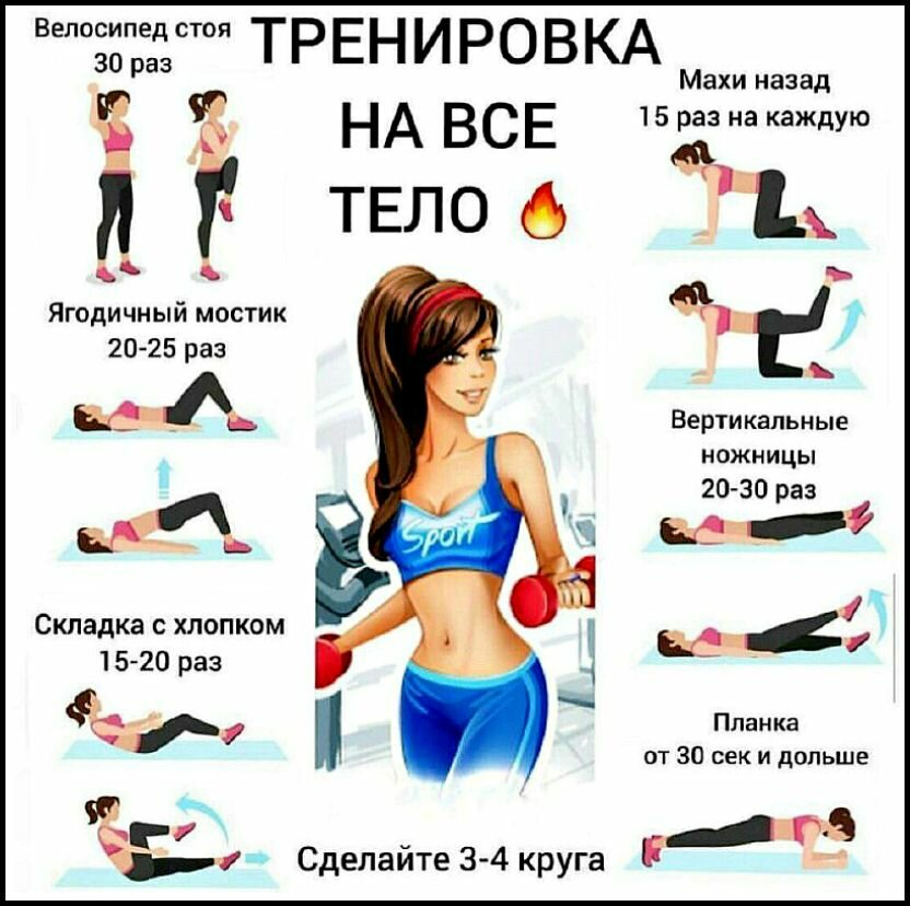 Программа для тренировки дома похудеть