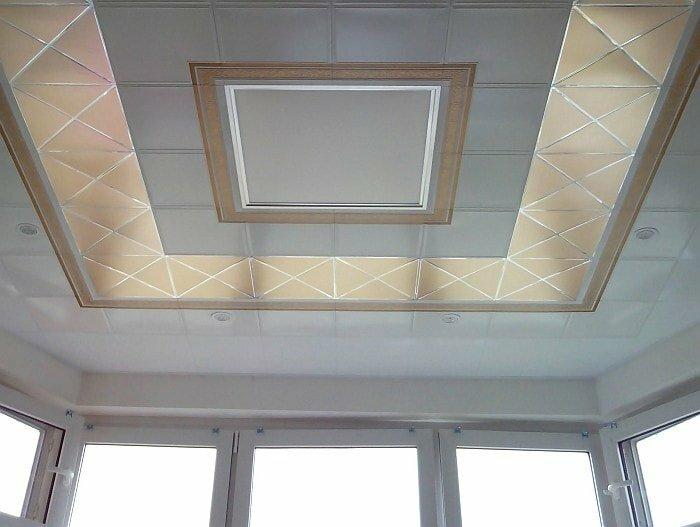 Кассетный потолок №29