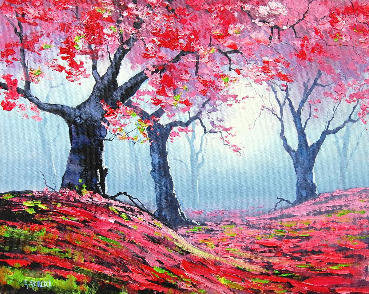 люблю рисовать картину красками что