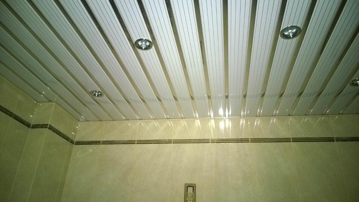 Реечный потолок №75