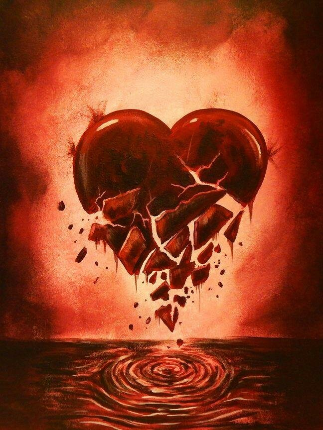 если картинка сердца сломался проведения