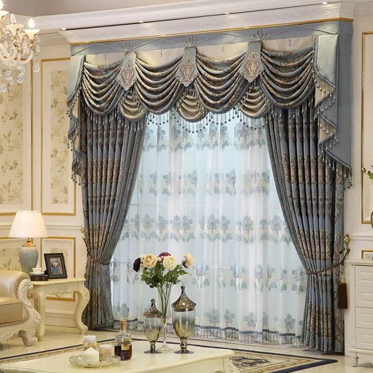 картинки красивых штор для зала