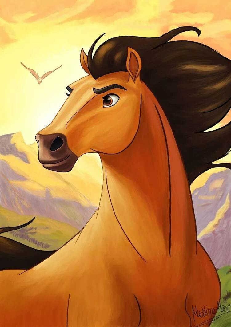 Мультфильм про лошадок картинки