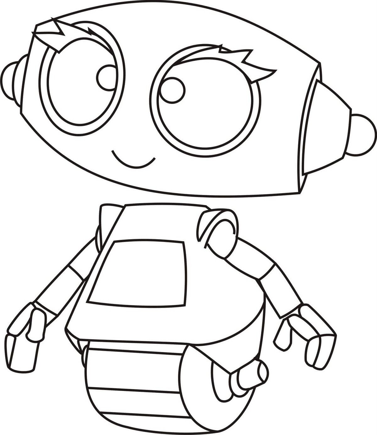 «Раскраски Роботы. Распечатайте онлайн! 100 разукрашек ...
