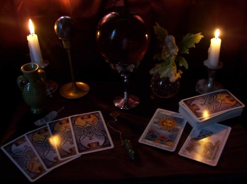 Картинки магия гадания