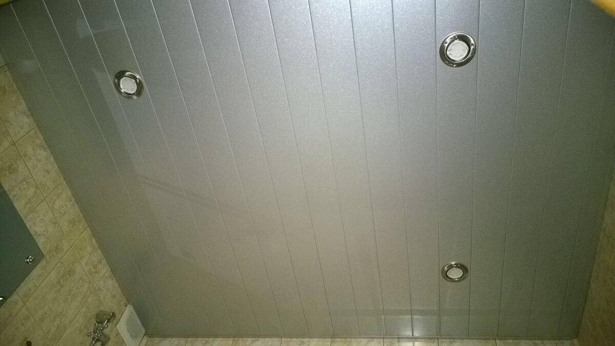 Реечный потолок №40