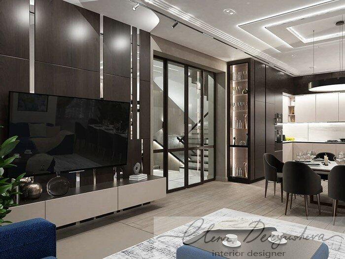 Дизайн проект квартиры в г. Воткинск