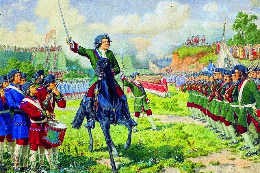9 марта 1714 года Петр I издал указ, запрещающий присваивать офицерские звания дворянам, не служившим рядовыми