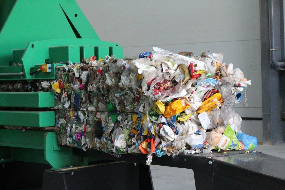Вторсырье из смешанного мусора недосортировано, низкая степень чистоты