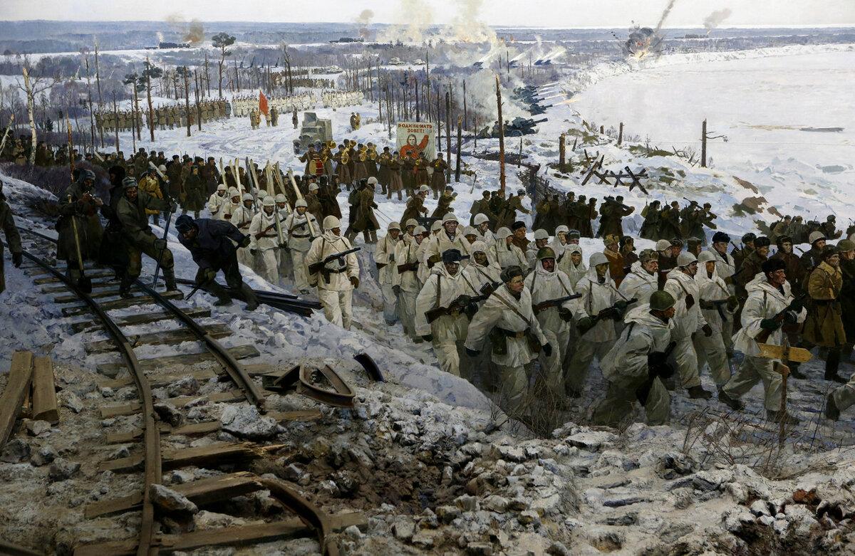 18 января 1943 года - день прорыва блокады Ленинграда в годы Великой Отечественной войны