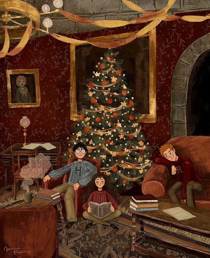 картинки с новым годом гарри поттер фотографии изображена шелковица