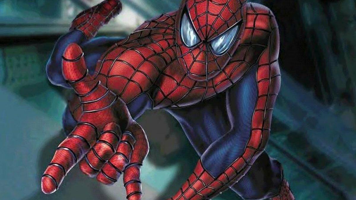 Картинки мультфильм человек паук