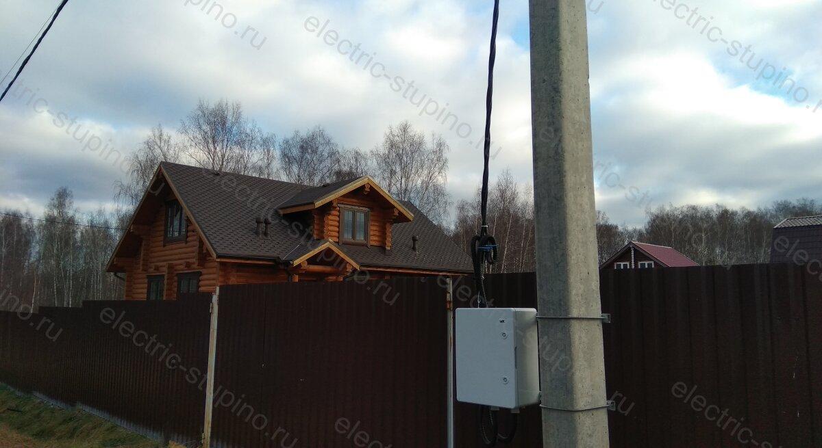Подключение 15 кВт к частному дому в Ступинском районе