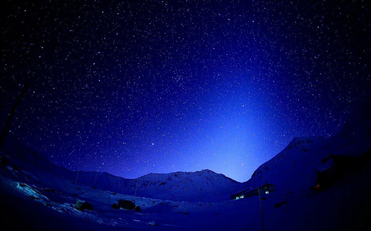 картинки синяя ночь тоненькие