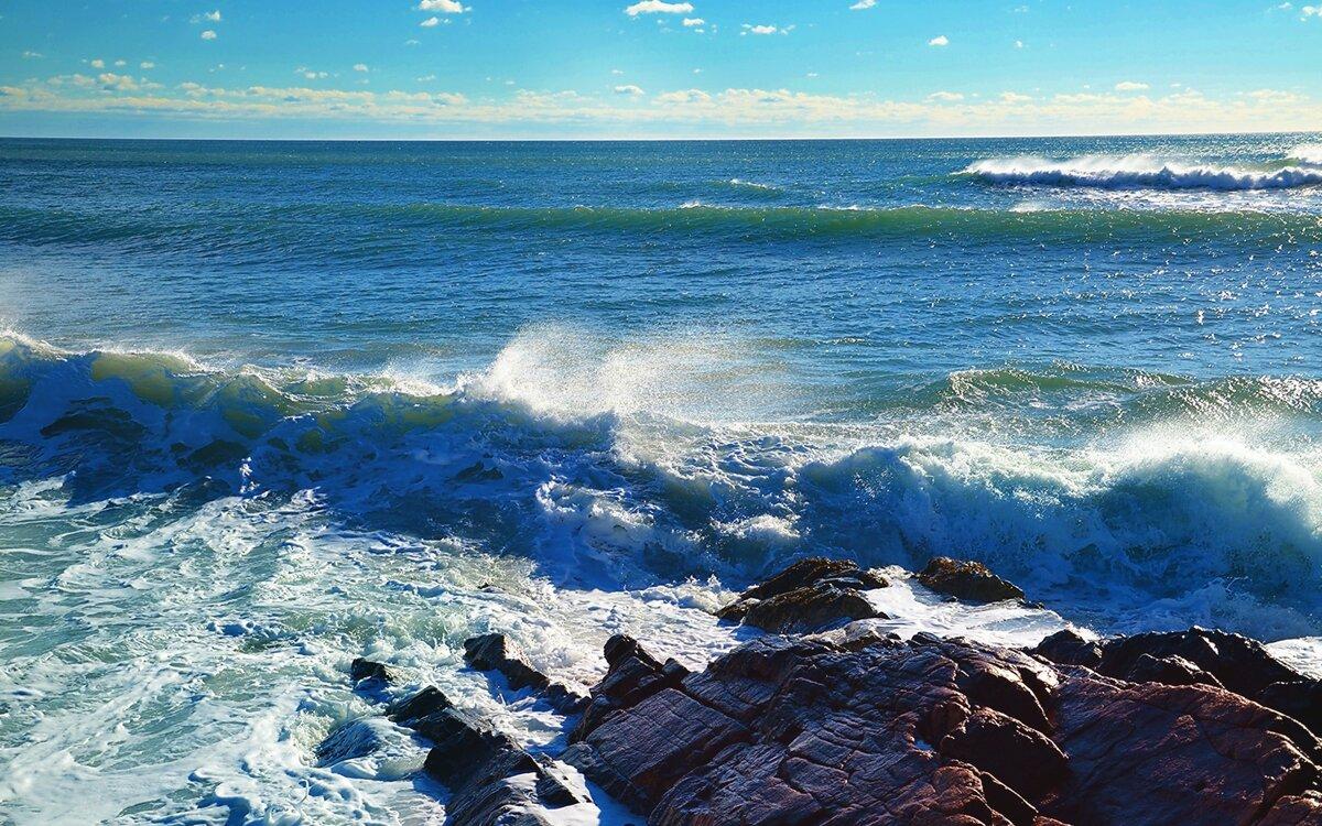 фото с волной морской базе утилиты