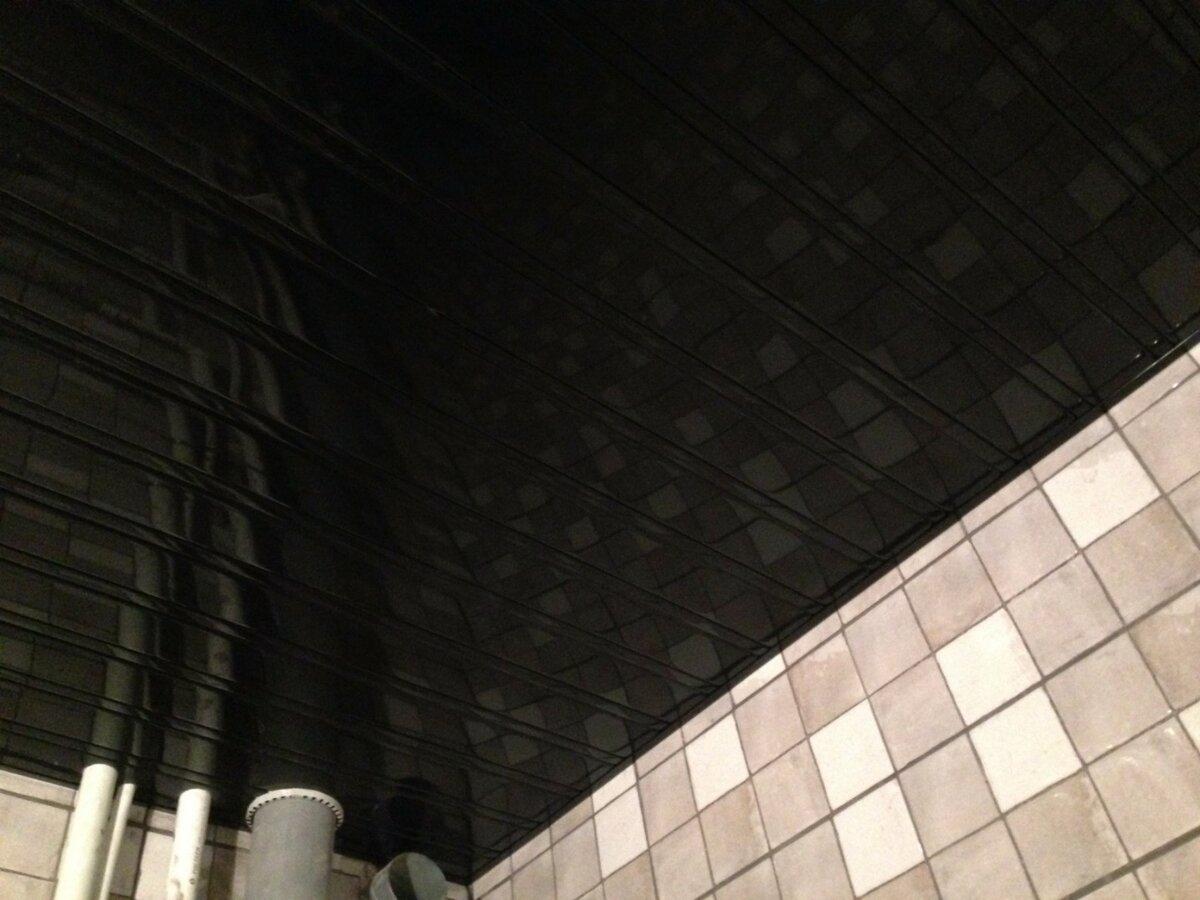 Реечный потолок №68