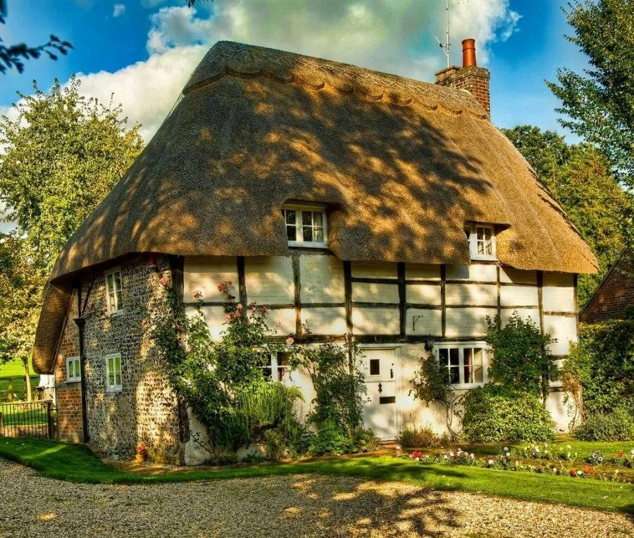 Английский дом картинки