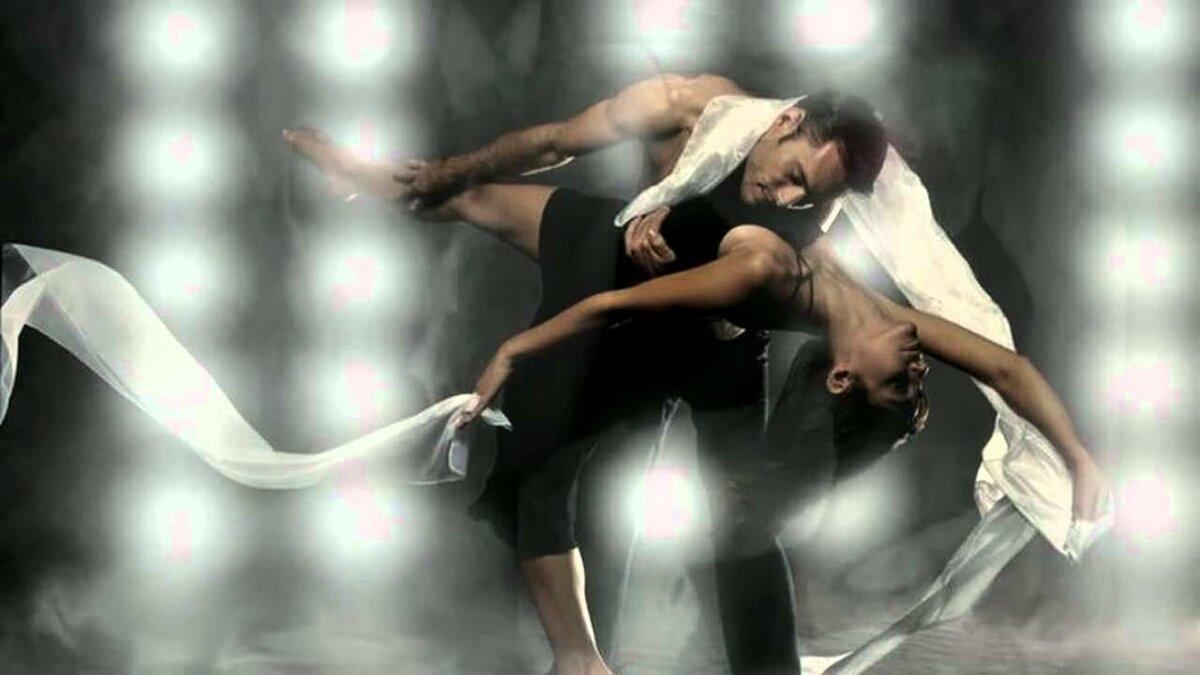 Фото открытка танцы даже