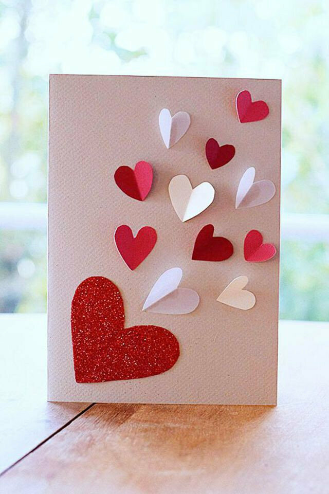 Как сделать любовную открытку для мамы