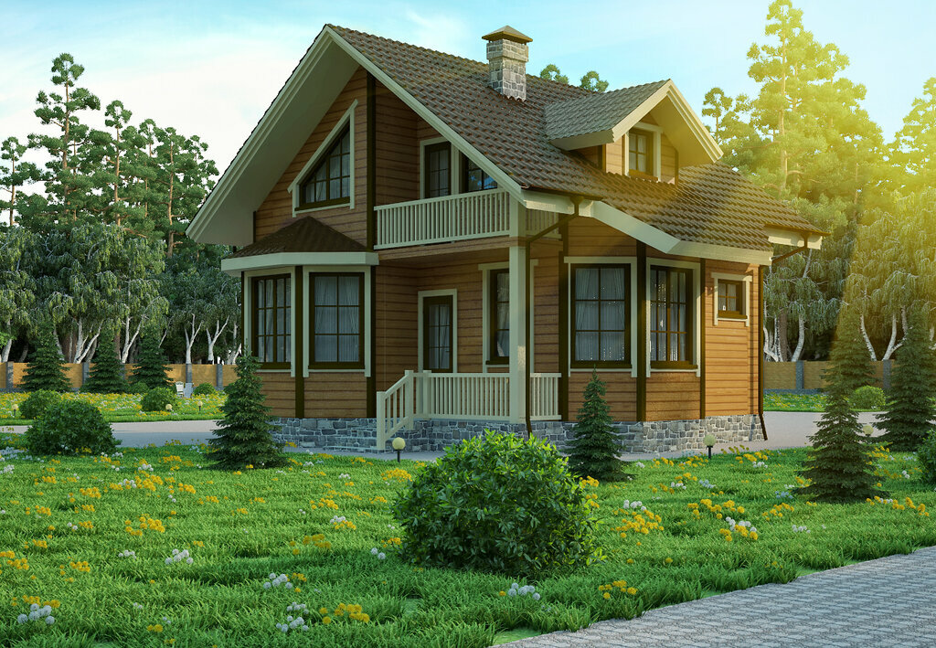 Деревянные брусовые крашеные дома фото отдохнуть