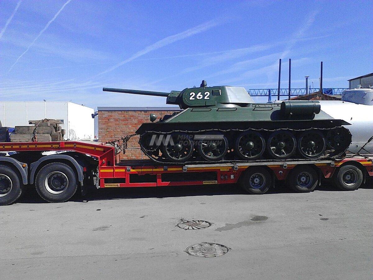 фото перевозки танка на трале фоторамка фильма