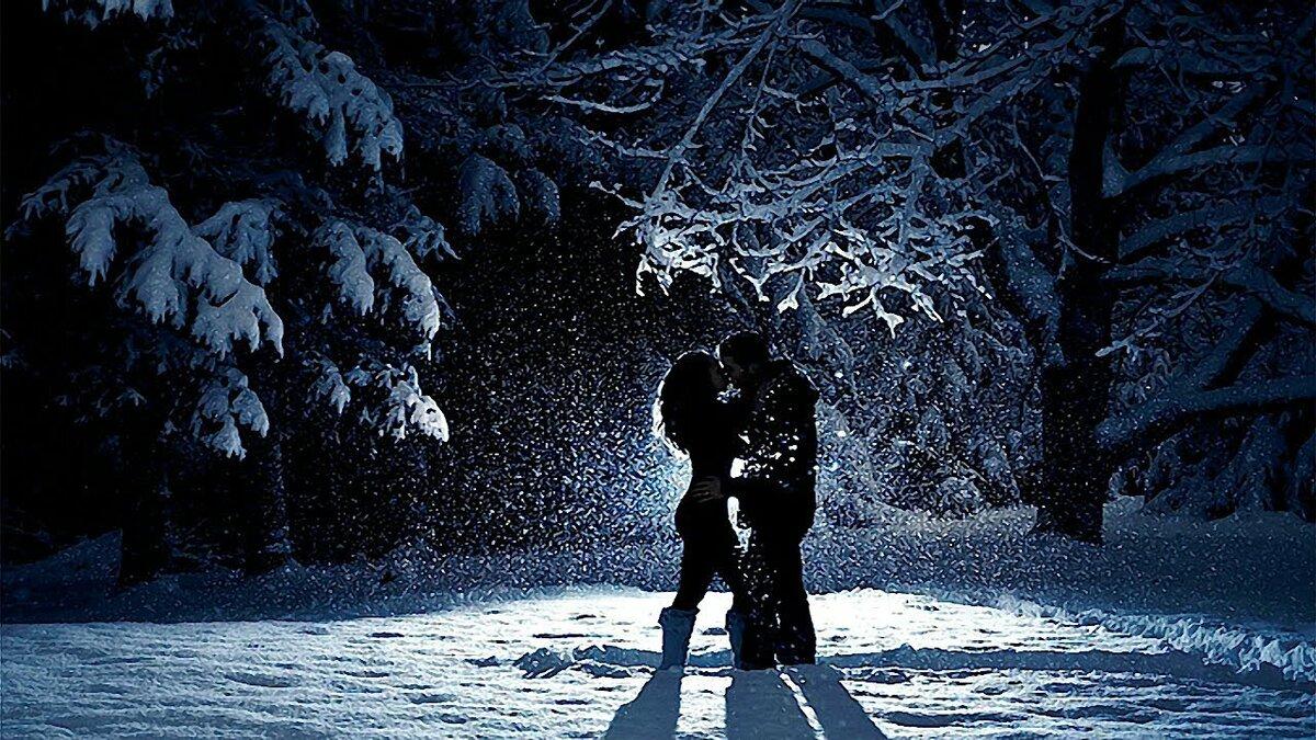 фото пар зимой со спины металлстройпрофиль совместно укс