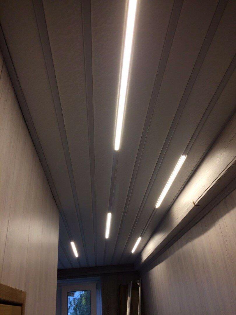 Реечный потолок №48