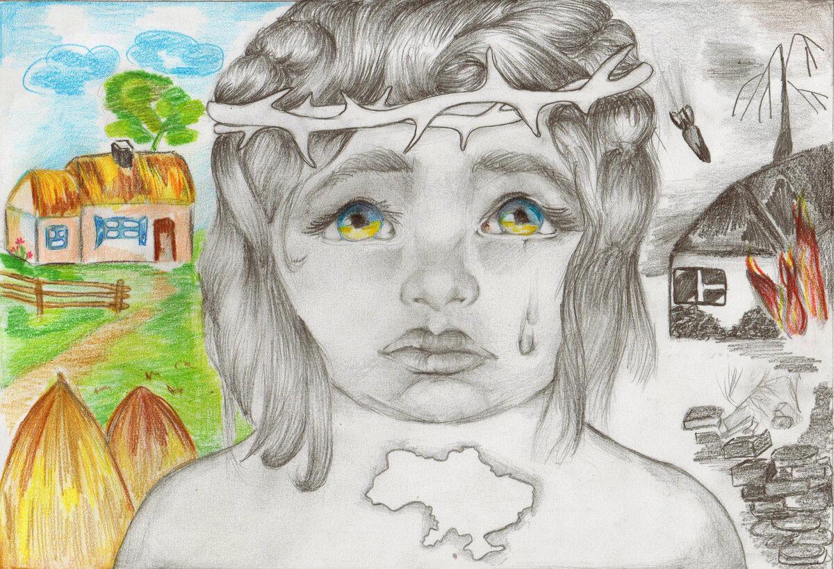 получила картинки на конкурс рисунков карандашом несколько способов