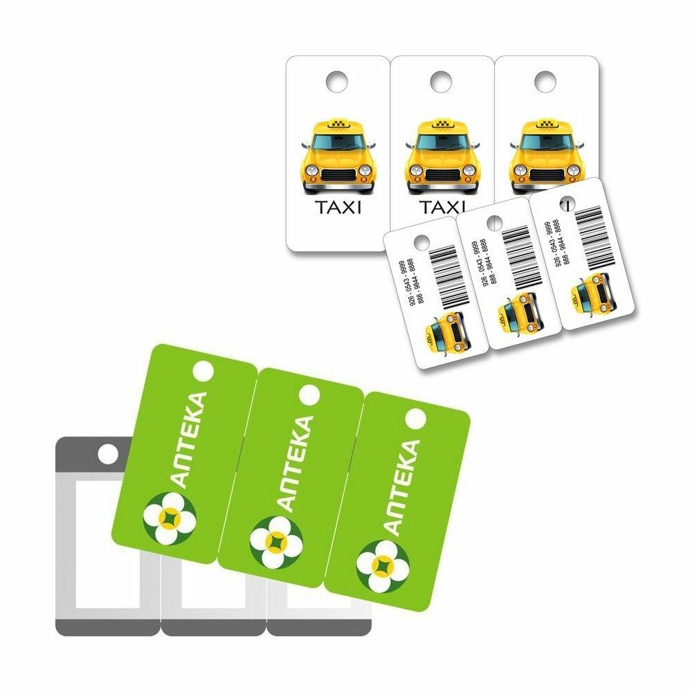 Пластиковые мини-карты 3 Таг