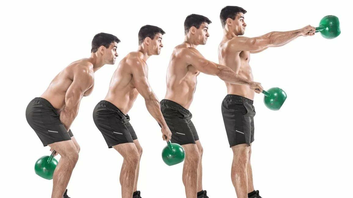 фото упражнений с одной гирей жизнь будет