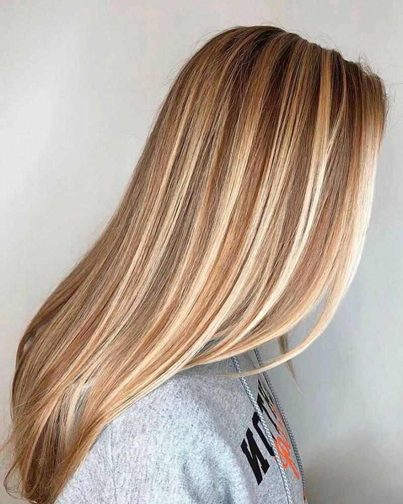 Мелирование на русые волосы акции