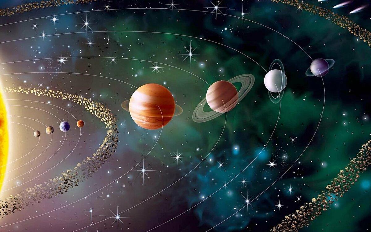 планеты солнечной системы в космосе картинки мягкий, объемный, легкий