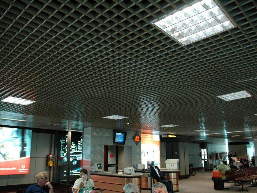 Потолок грильято фото №29