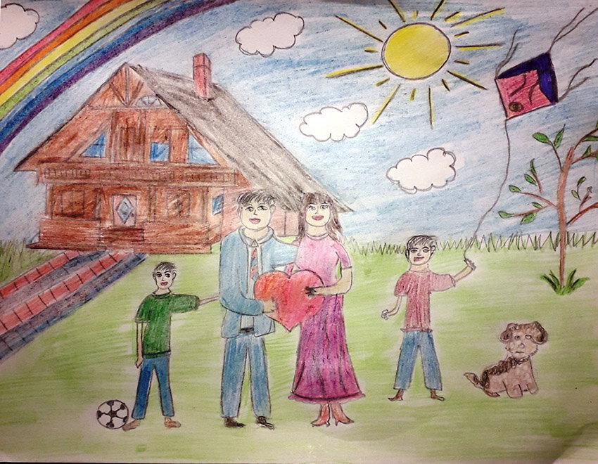 закуплены картинки рисунки на тему моя семья годы, самой шанель