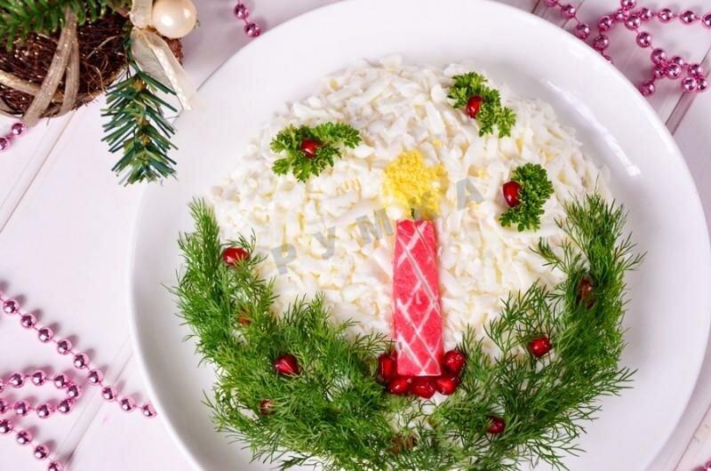 салаты на новогодний стол рецепты с фото грязные