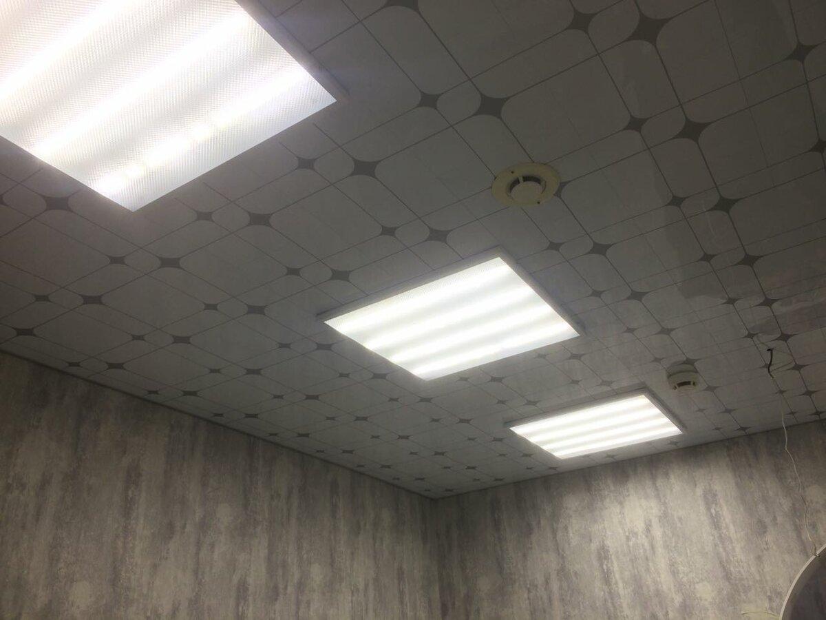 Кассетный потолок №18