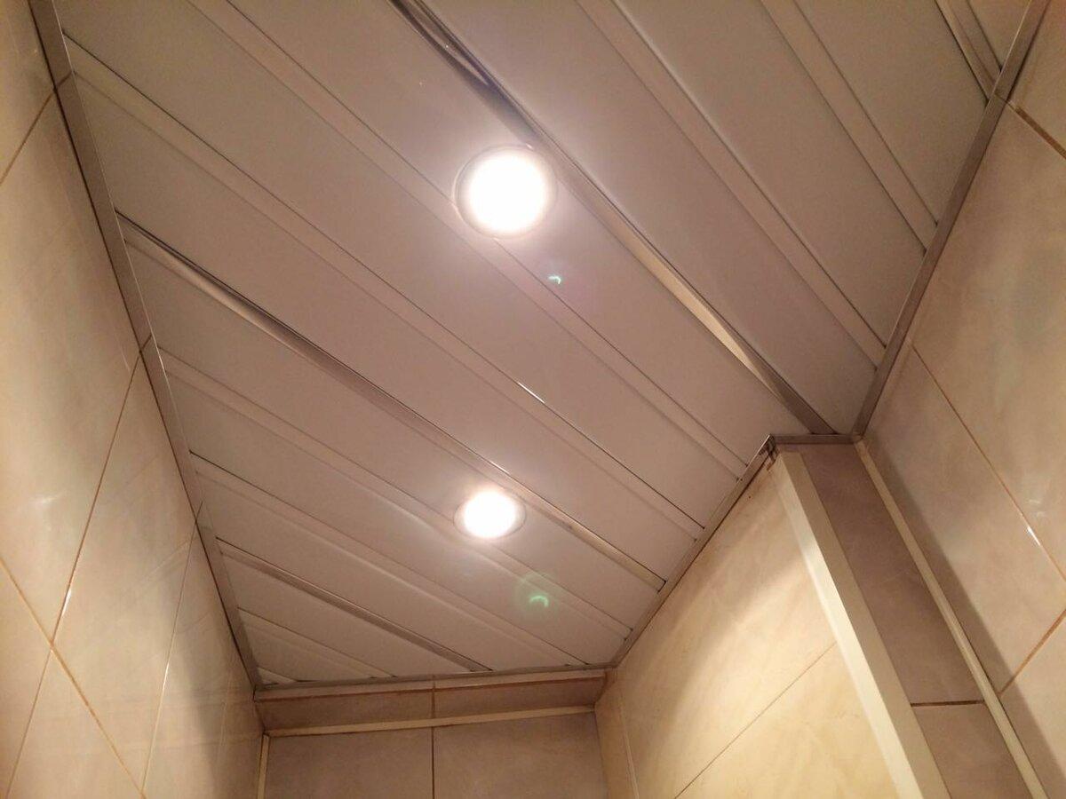 Реечный потолок №87
