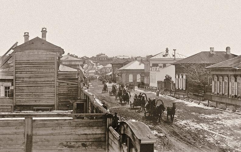 Старинные фото иркутска