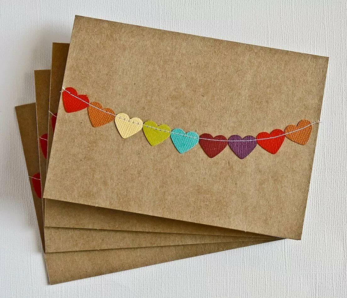 Как сделать поздравление в открытке