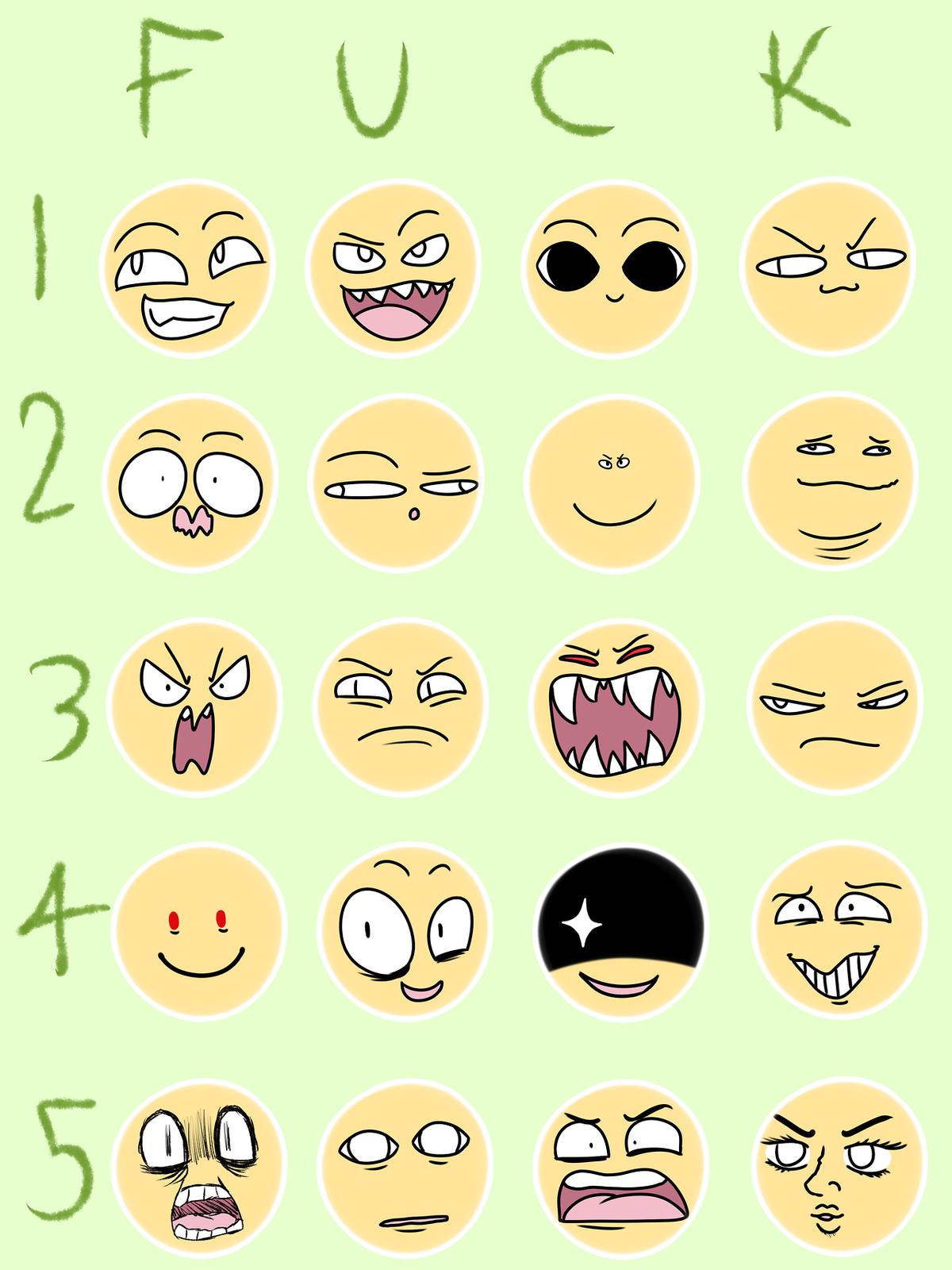 Картинка с эмоциями для рисования