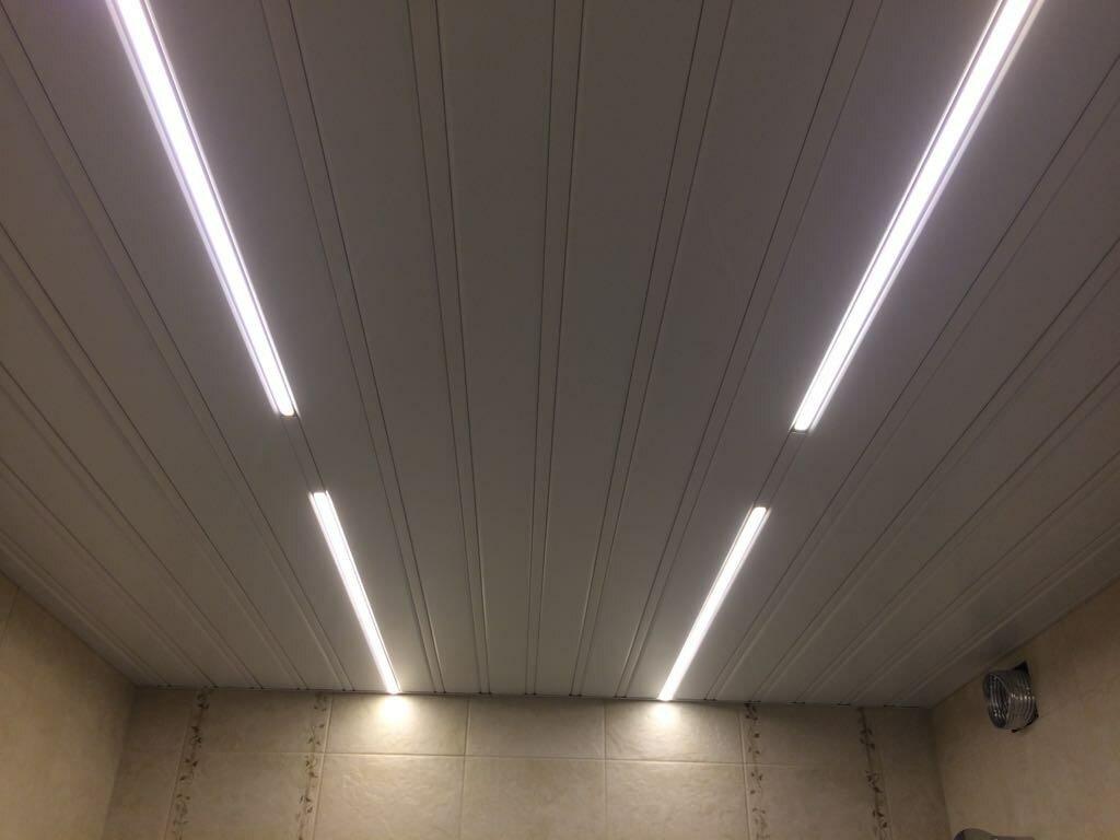 Реечный потолок №53