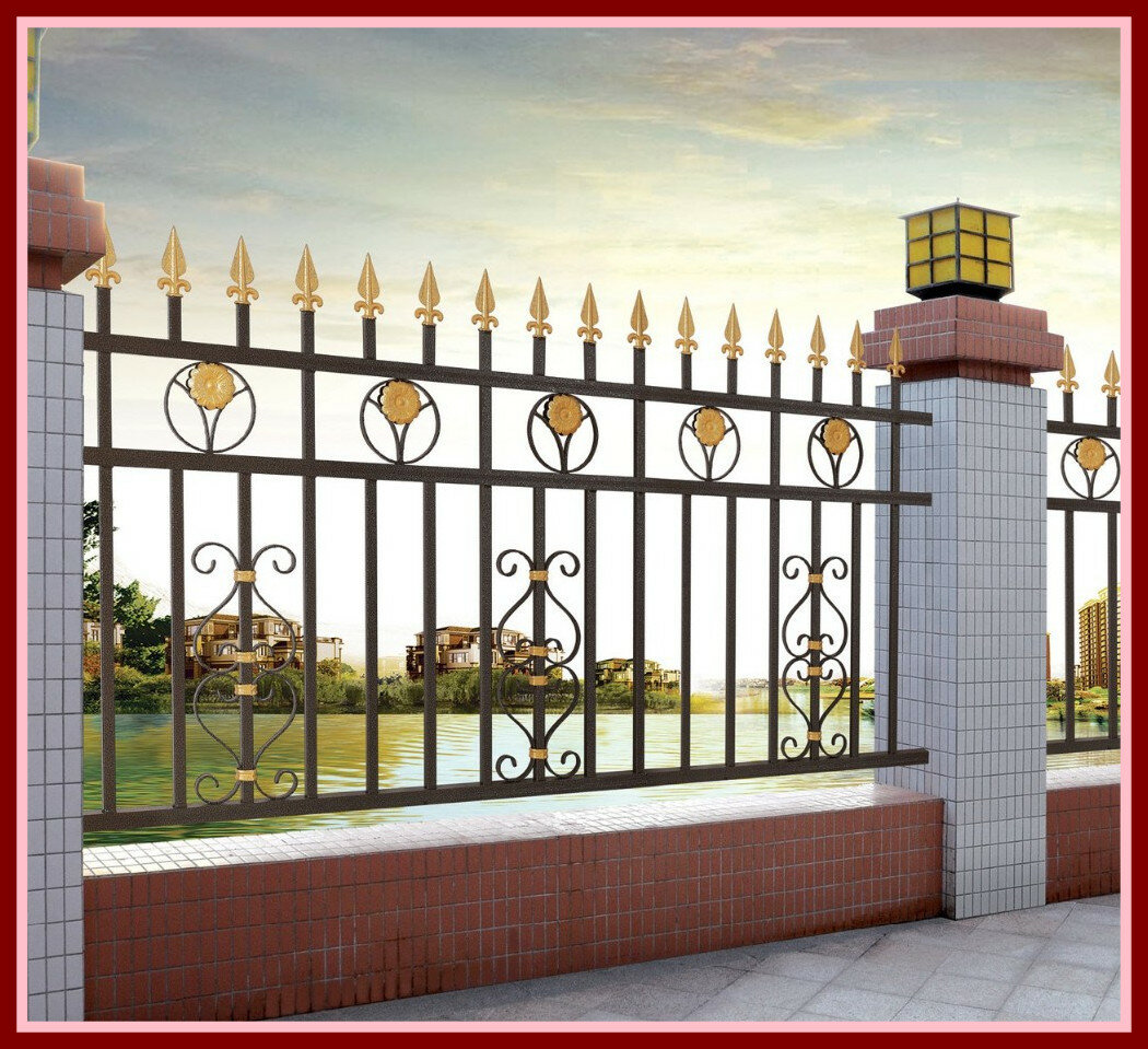 картинки красивых оград долго