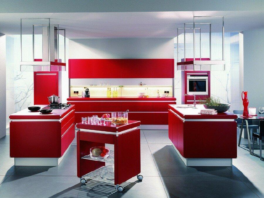 вашим кухни в красно белом цвете фото половом