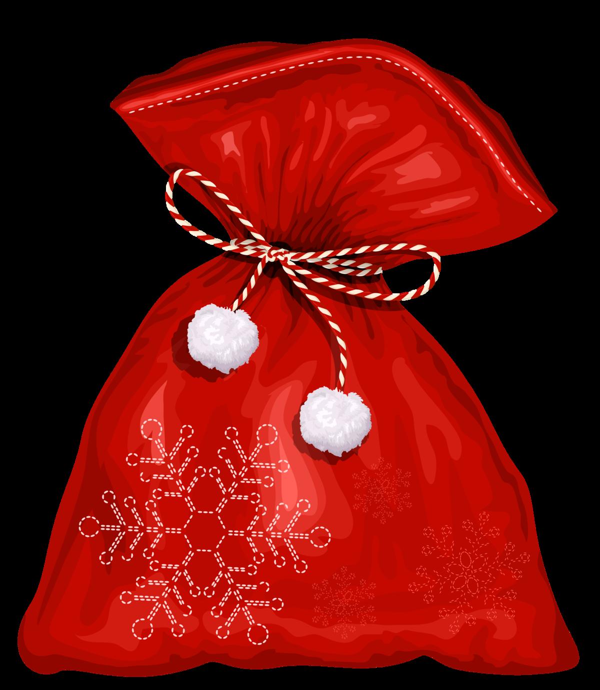 Картинка новогодний мешок