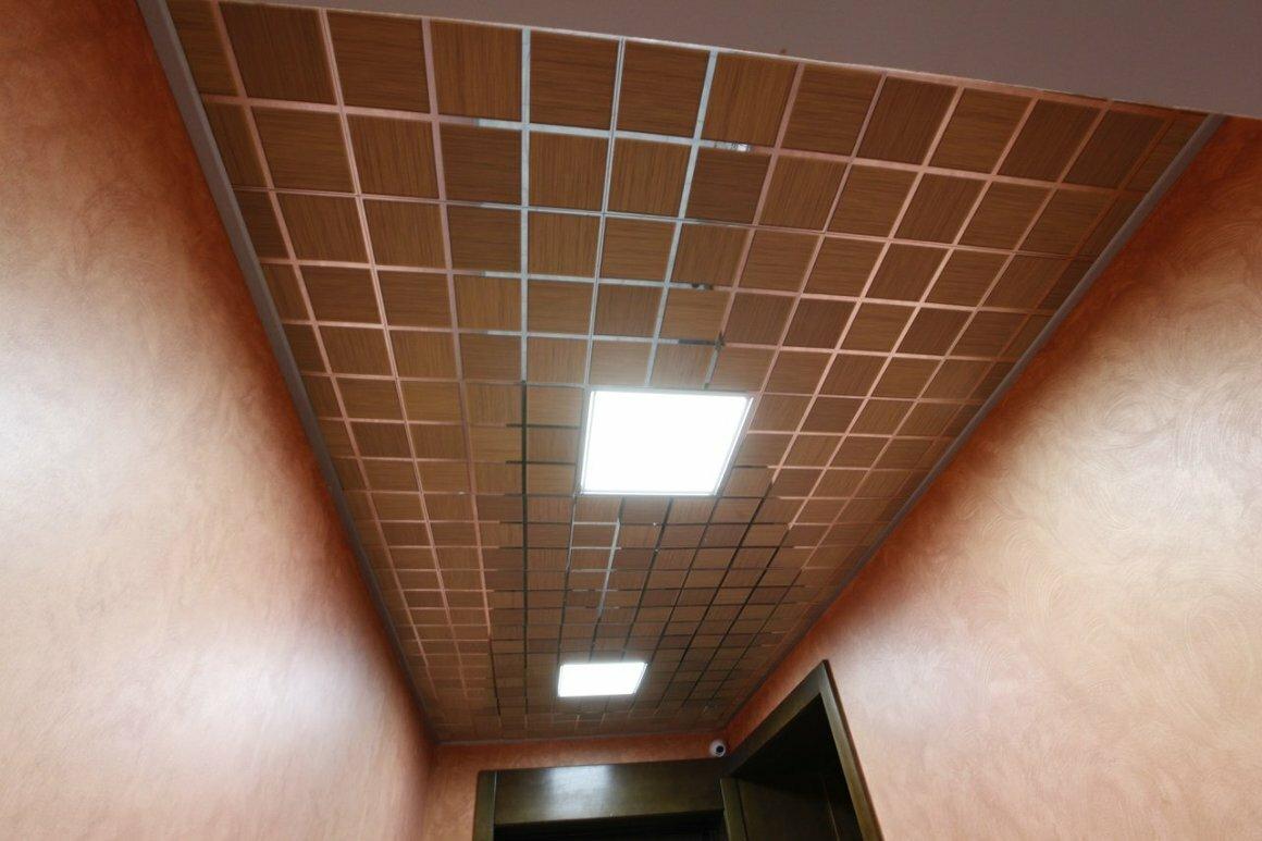 Кассетный потолок №23