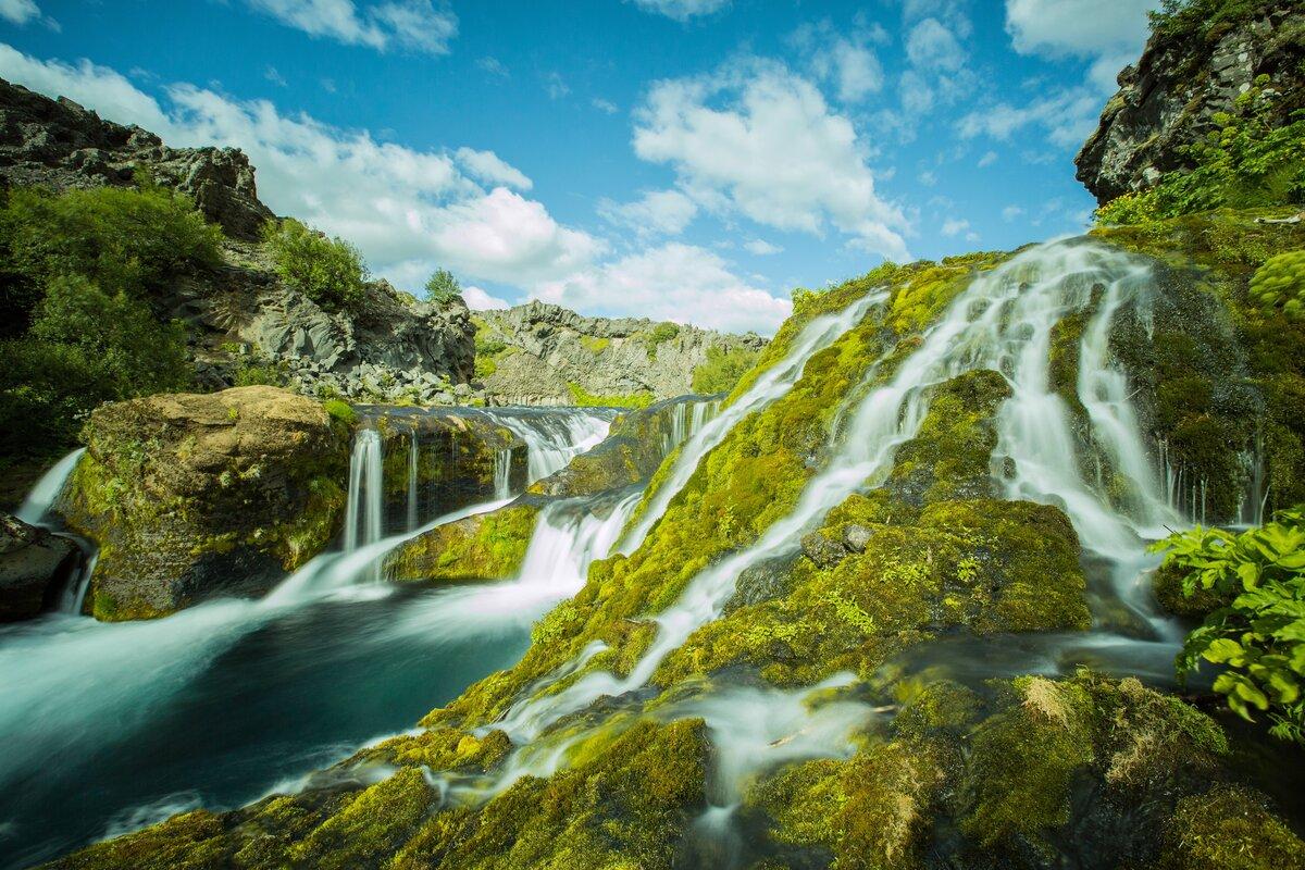 самый красивый водопад картинка